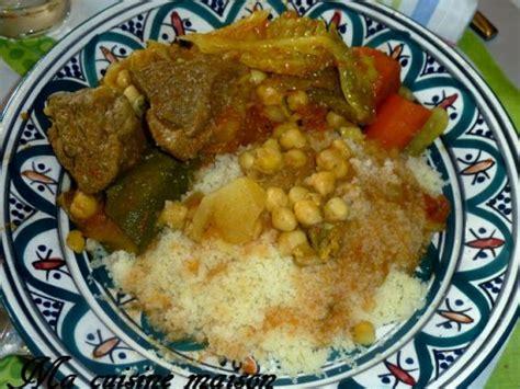 recette cuisine couscous tunisien couscous agneau tunisien recette maison de ma