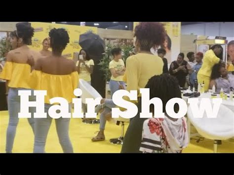 world natural hair show atlanta taliah waajid  youtube