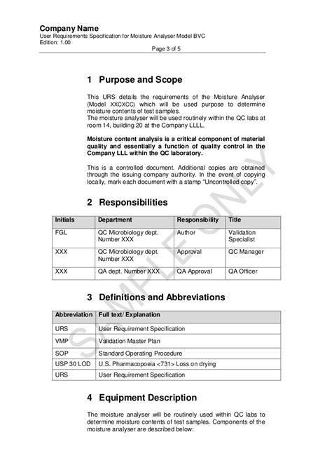 User Requirement For Moisture Analyser.Pdf.