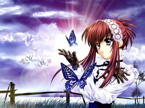 Anime Butterfly Wallpaper - butterfly anime 1600x1200 wallpaper animals