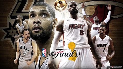 nba  nba finals game  heat  spurs youtube