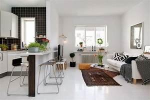 Come arredare un soggiorno piccolo con angolo cottura