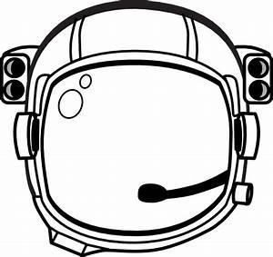 Astronaut S Helmet Clip Art at Clker.com - vector clip art ...