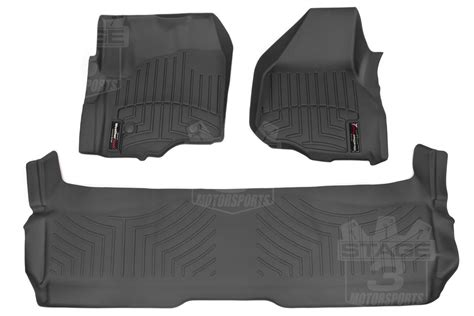Weathertech Floor Mats 2015 F250 by 2011 2016 F250 F350 Duty Supercrew Weathertech