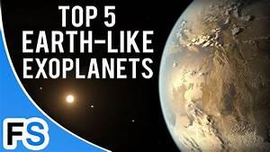 Top 5 Earth-Like Exoplanets - YouTube