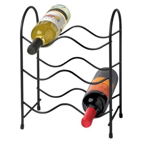 wine rack target spectrum metro wine rack 6 bottles black target