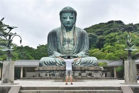 japon japan places temple buddha kamakura visiter kotoku bouddhiste hostelworld practising buddhist astounding truly