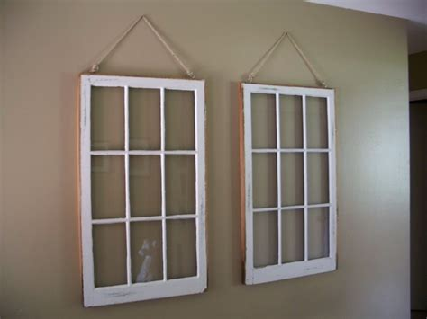 Home Interior Window Pane Picture :  Eye-catching Diy Window Frame With Adorable