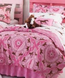 Little Girl Horse Bedding Sets