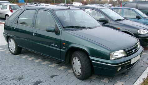 citroen zx 1 6 1996 auto images and specification