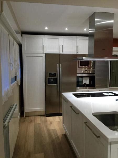 foto cocina  frigorifico americano de dediseno
