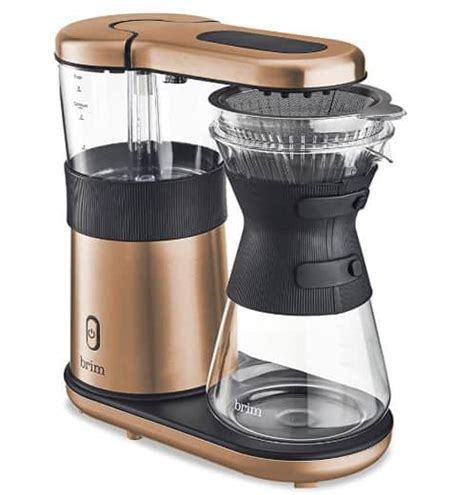 This sleek coffee machine gives you the luscious cup of coffee that the manual pour over method makes with the convenience of an automatic coffee meanwhile, the others listed here like the brim 8 cup pour over coffee maker, have built in filters. 7 Best Automatic Pour Over Coffee Maker 2021