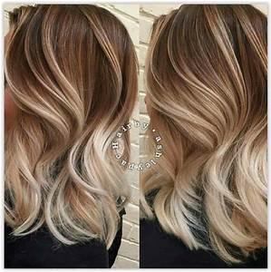 Ombre Hair Blond Polaire : ombre hair et m ches miel 20 mod les impressionnants coiffure simple et facile ~ Nature-et-papiers.com Idées de Décoration