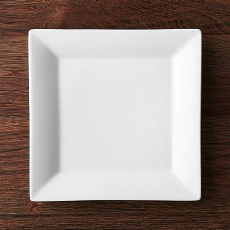 Viereckige Teller by Square 10 25 Quot Plate Crate And Barrel