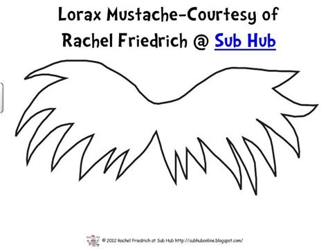 lorax mustache template search results for dr seuss printable writing the lorax calendar 2015