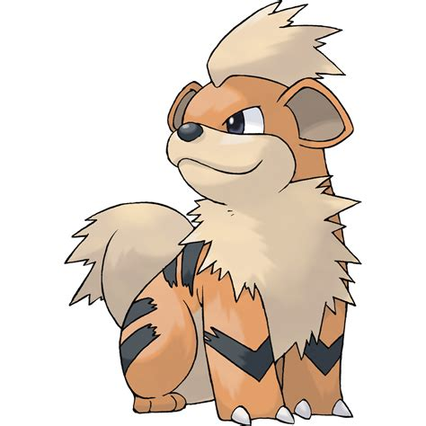 pokemon go arcanine chart identification growlithe game fire growlith nature type bulbagarden evolutions