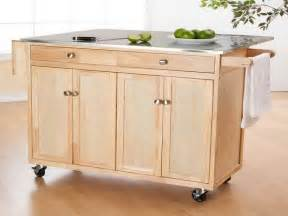 Kitchen Island On Casters Kitchen Wooden Portable Kitchen Islands On Wheels Kitchen Islands On Wheels Ideas How To Build