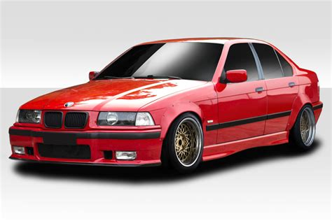 bmw 92 98 e36 325i 92 98 bmw 3 series all rbs duraflex fender flare kit 113727 6544839216996 ebay
