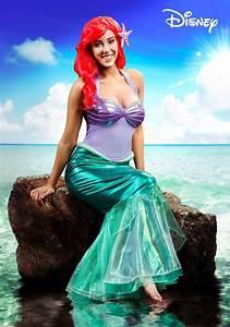 Disney Little Mermaid Ariel Deluxe Costume for Women