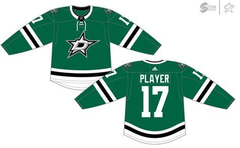 Dallas Stars Dark Uniform - National Hockey League (NHL ...