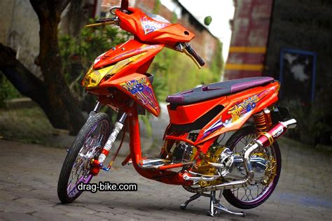 Thailook Beat 50 foto gambar modifikasi beat kontes racing jari