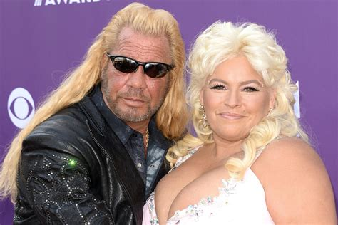 dog the bounty hunter says wife beth is cancer free new