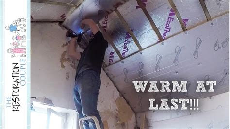 Insulating Between & Under Rafters  Loft Conversion