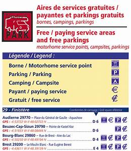 Parking Gratuit Brest : camping car aires parkings gratuits carte routi re ~ Melissatoandfro.com Idées de Décoration