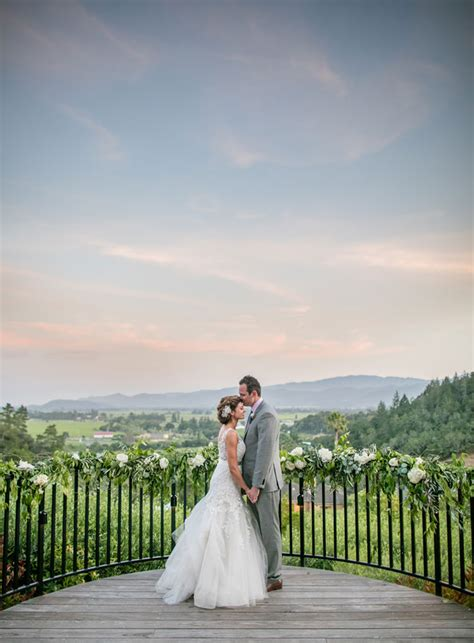 breathtaking napa valley wedding  luxe
