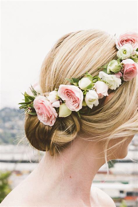 Favorite Flower Crowns Flower crown hairstyle Bridal