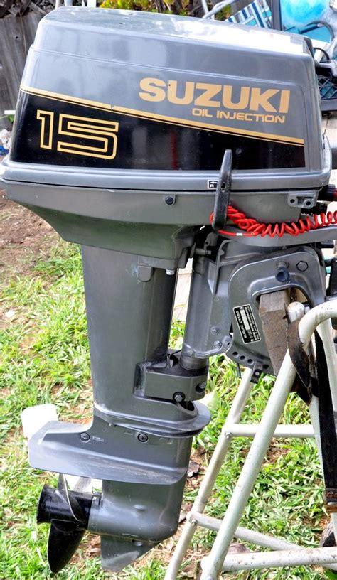 15 Hp Suzuki Outboard by Suzuki 15hp Outboard Xlnt Bloodydecks