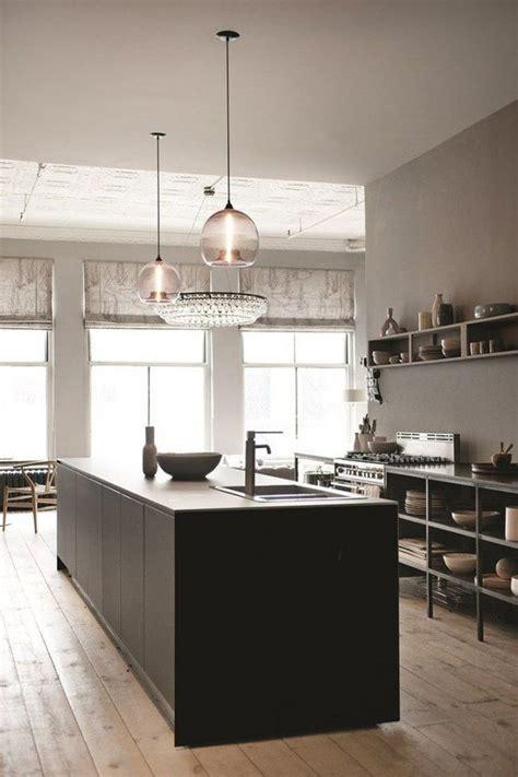 les plus belles cuisines ouvertes aménagement cuisine ouverte îlot central