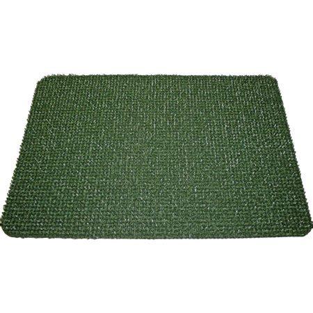 grass doormat astroturf scraper door mat spruce green walmart