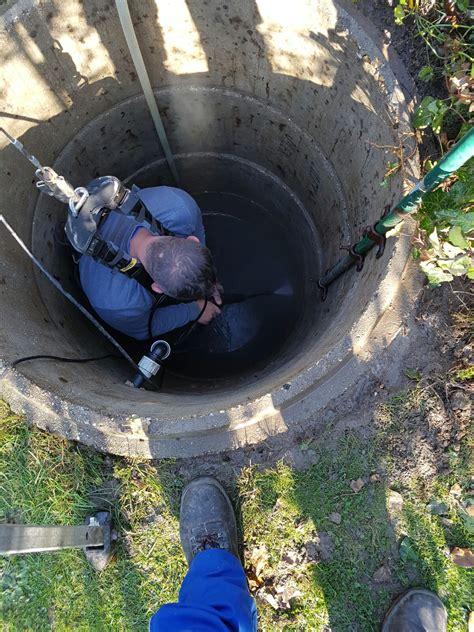 brunnen spülen mit hochdruckreiniger brunnensanierung03 brunnen schlagbrunnen service