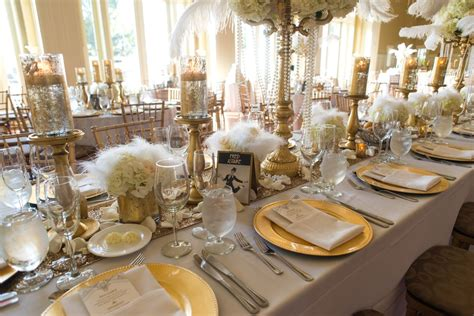 A beautiful Great Gatsby themed wedding at The Ryland Inn