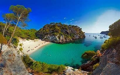 Spain Beach Landscape Nature Sea Sand Boat