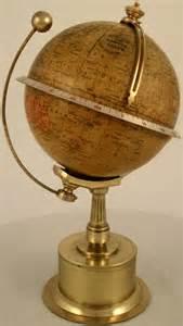 Antique Globe Clock
