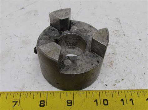 al  miki pulley mmb aluminum jaw coupling shaft coupler hub mm bore  bullseye