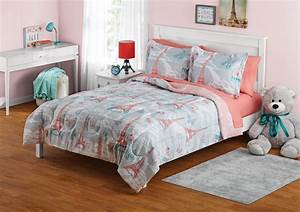 Your, Zone, Paris, Bed, In, A, Bag, Coordinating, Bedding, Set