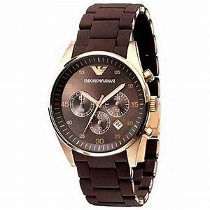 Emporio Armani mens watch AR5890 | Rose gold emporio ...