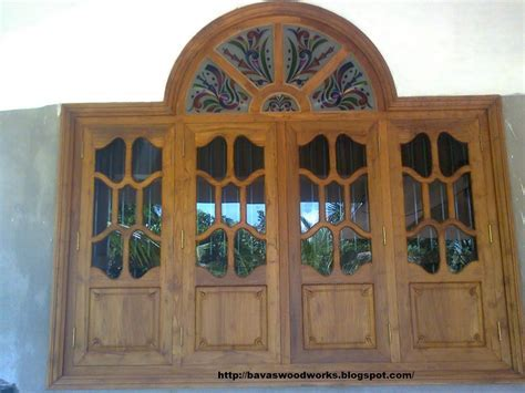 BAVAS WOOD WORKS: Arched Wooden Door Frame with Double