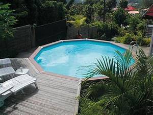 Prix Piscine Semi Enterrée : piscine semi enterree ~ Melissatoandfro.com Idées de Décoration