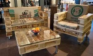 Salon De Jardin En Palette Tuto : salons de jardin faits avec des palettes en bois ~ Dode.kayakingforconservation.com Idées de Décoration