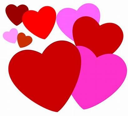 Hearts Clip Valentine Week Clipartix