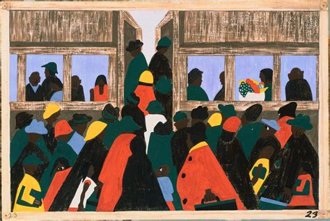 jacob lawrence  migration series africanahorg