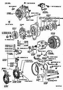 Alternator For 1988  4runner Truck Ln65