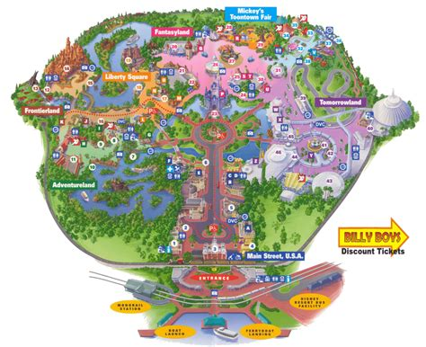 disney world map  large images projects