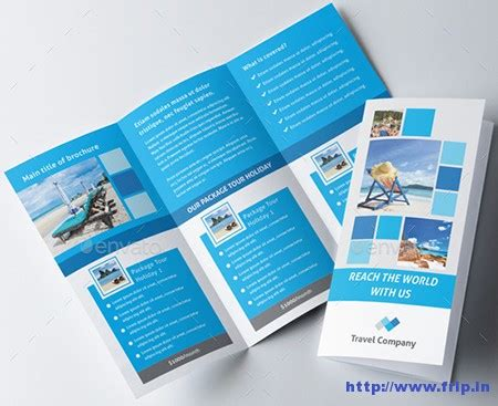 Travel Brochure Template 3 Fold by 30 Best Travel Agency Trifold Brochure Print Templates
