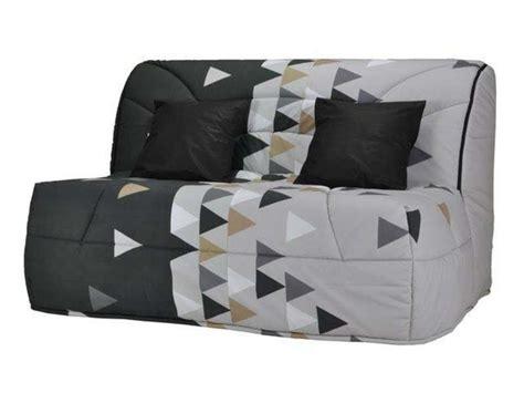 housse canapé bz 140 housse pour bz prima 140 cm prima triangle coloris noir