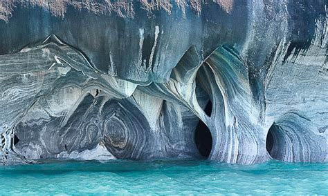 marble cathedral  chile natural